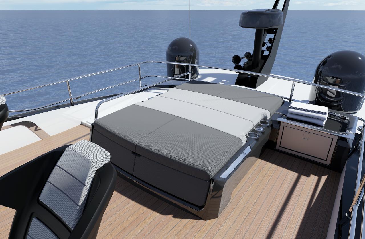 Sunseeker 65 Sport Yacht | Экстрьер 5