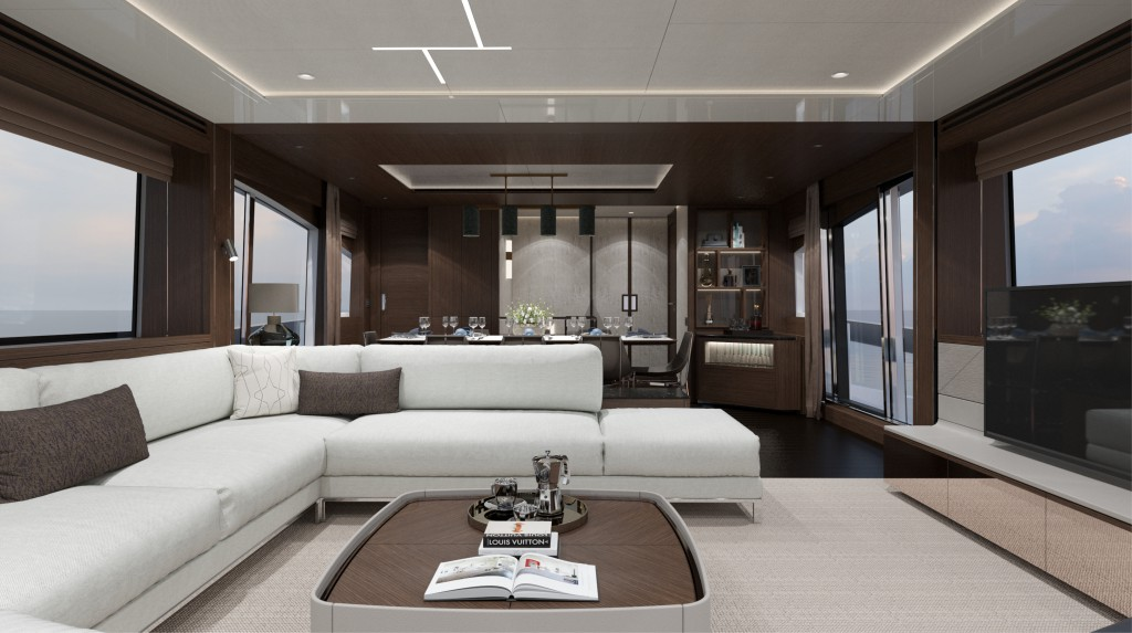 Sunseeker 88 Yacht   Интерьер 2