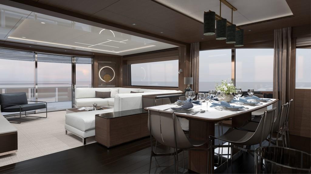 Sunseeker 88 Yacht   Интерьер 0