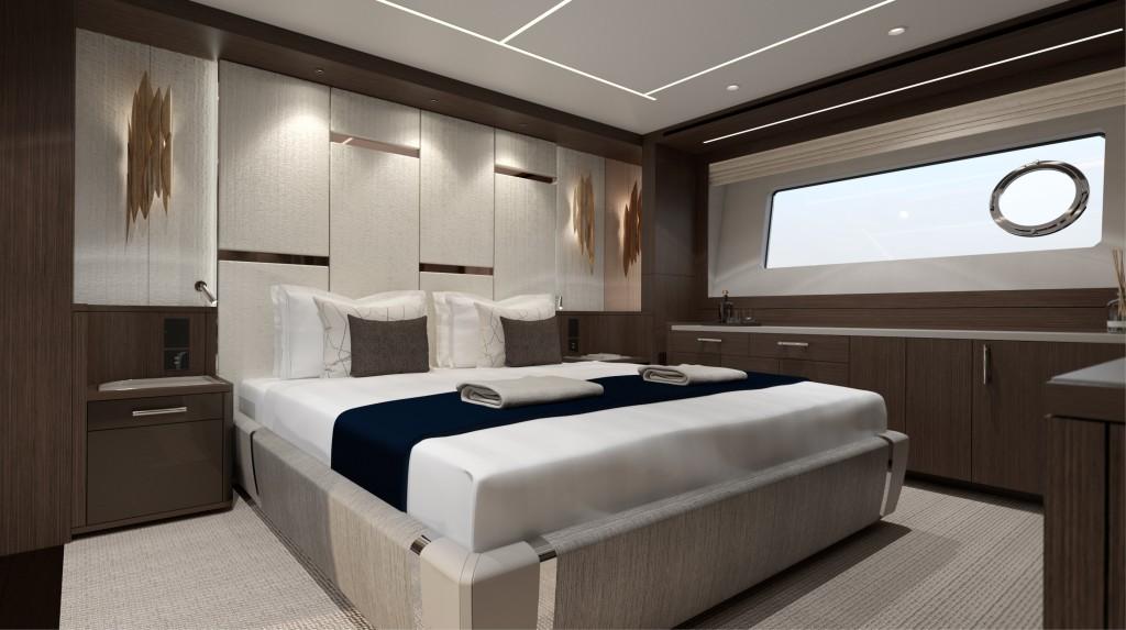 Sunseeker 88 Yacht   Интерьер 3