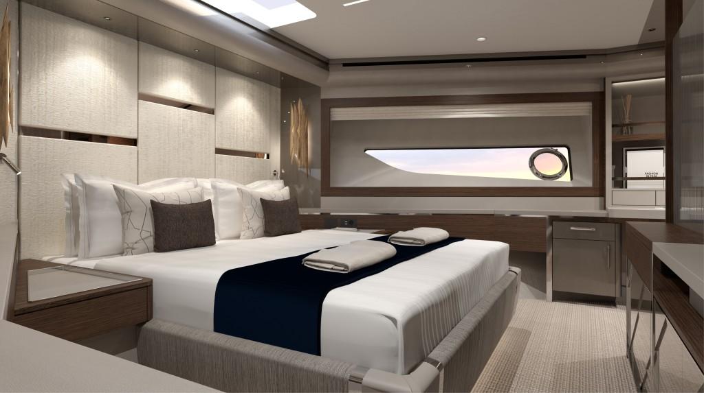 Sunseeker 88 Yacht   Интерьер 7