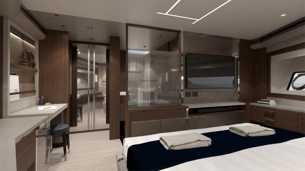 Sunseeker 88 Yacht   Интерьер 9