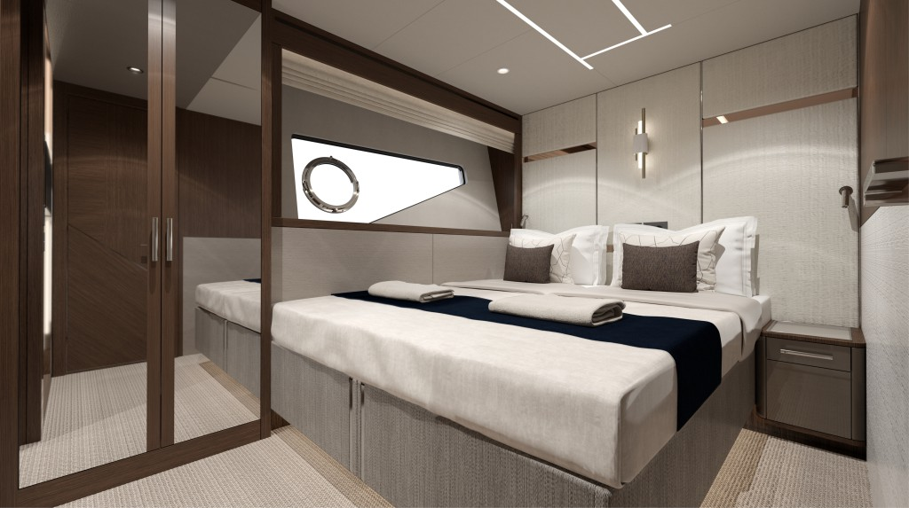 Sunseeker 88 Yacht   Интерьер 6