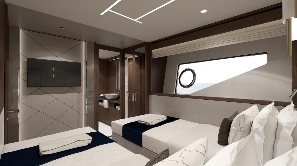 Sunseeker 88 Yacht   Интерьер 5