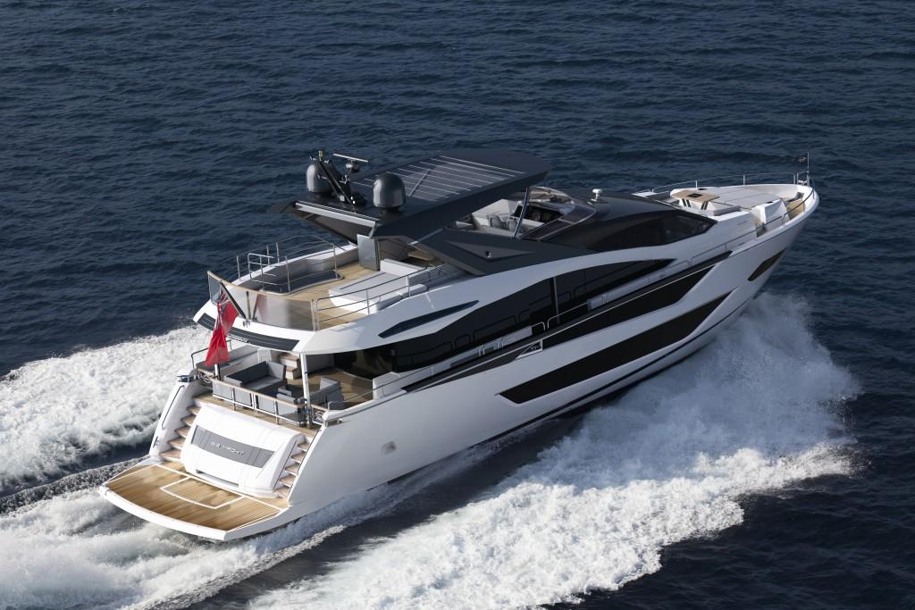 Sunseeker 88 Yacht | Экстрьер 4