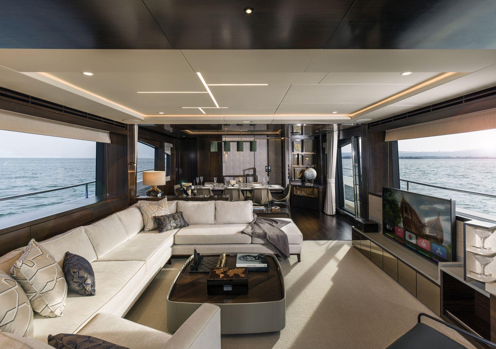 Sunseeker 88 Yacht | Интерьер 2