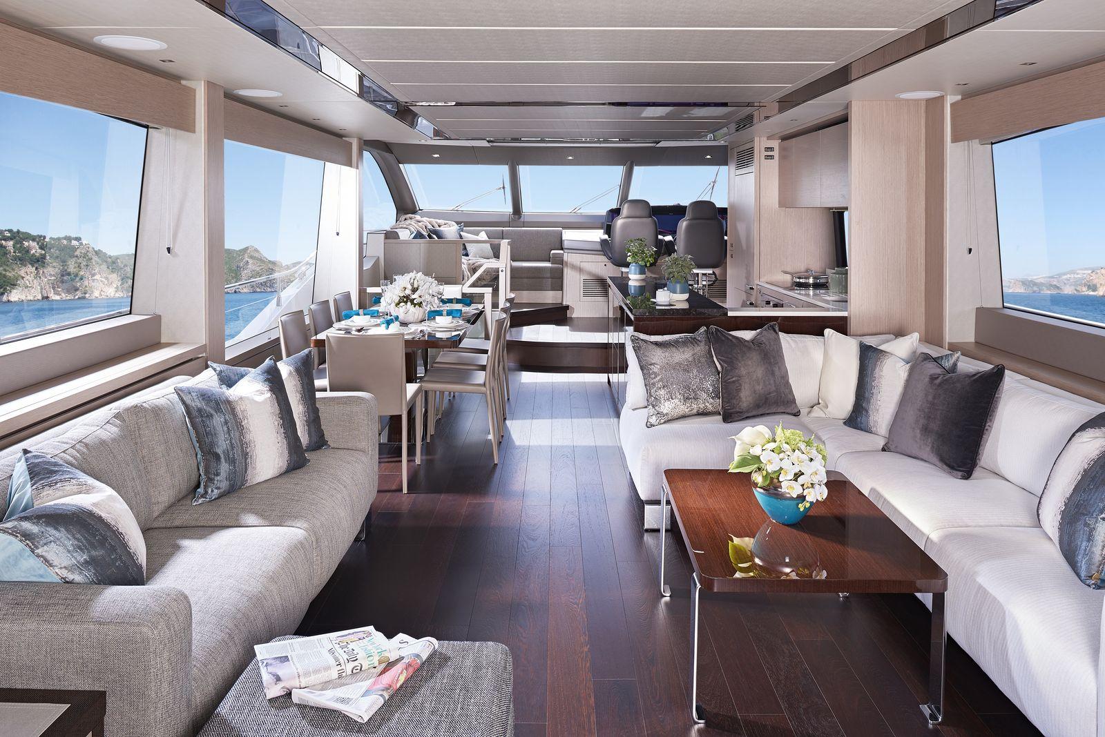 Sunseeker 76 Yacht (208)   Интерьер 1