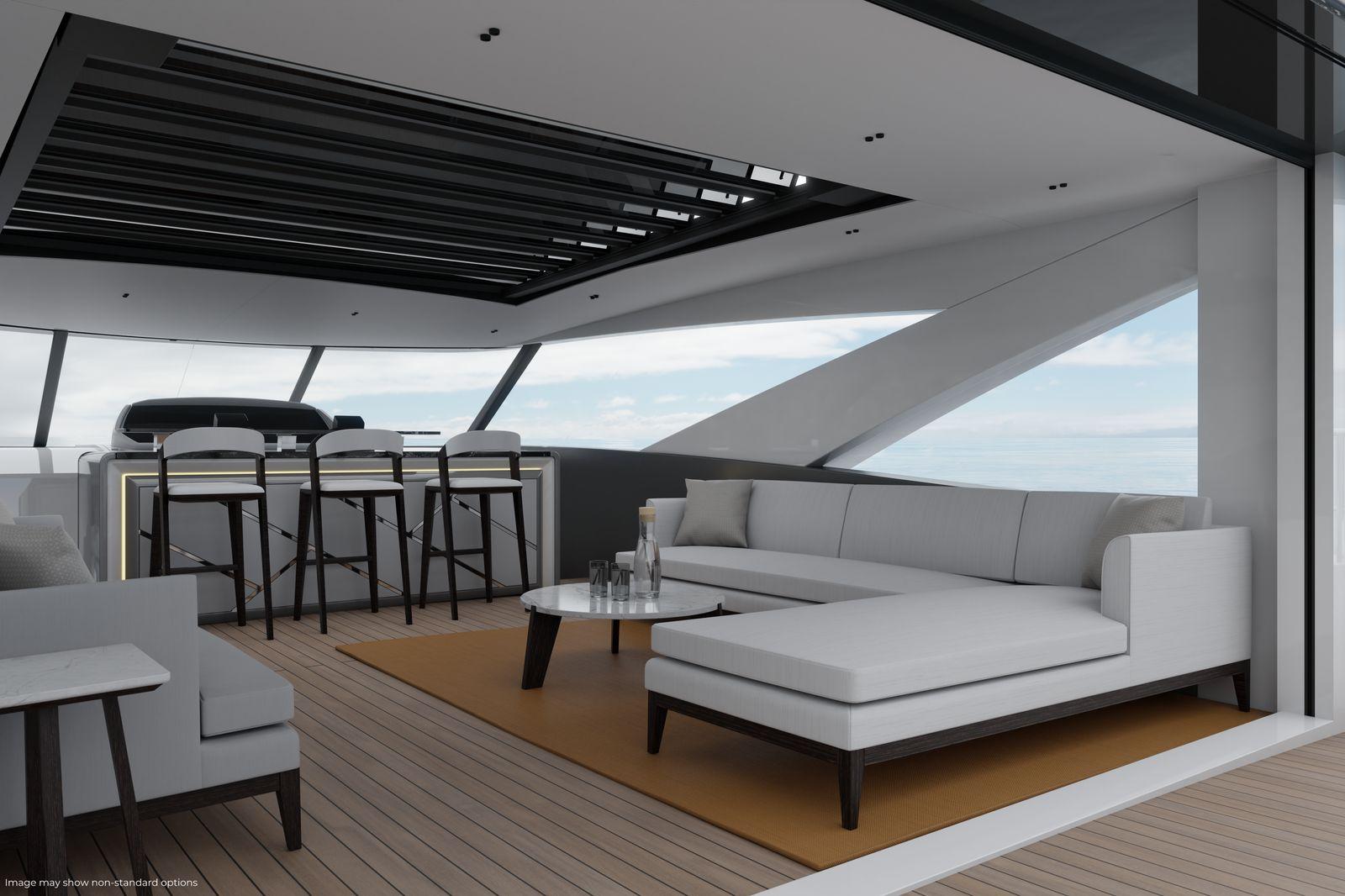 Sunseeker 90 Ocean Enclosed | Экстрьер 9