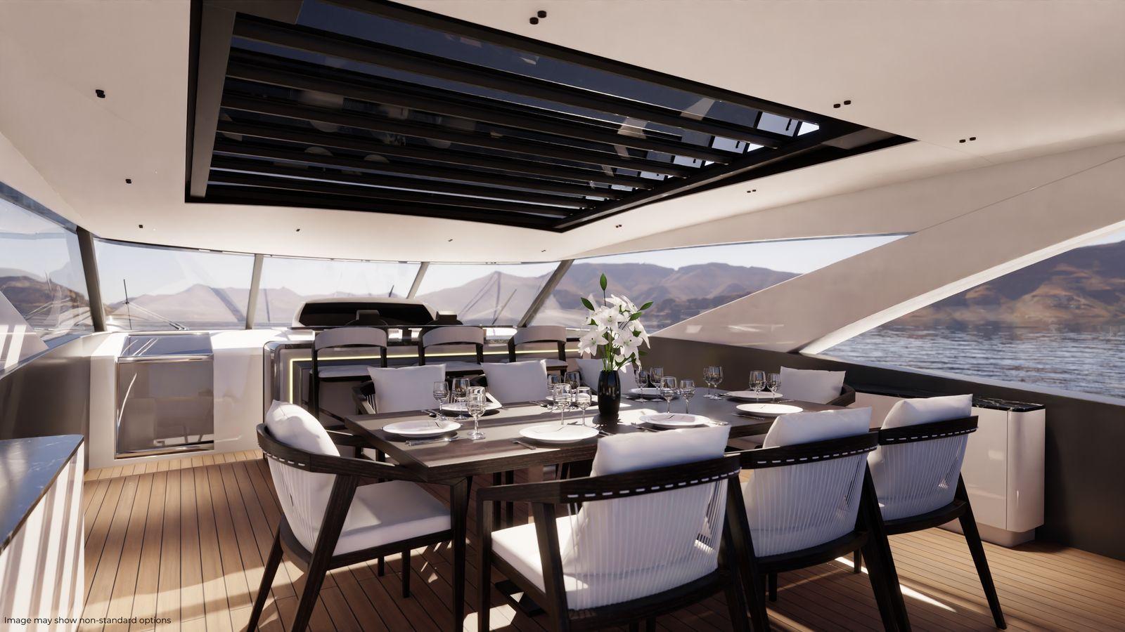 Sunseeker 90 Ocean Enclosed | Экстрьер 8