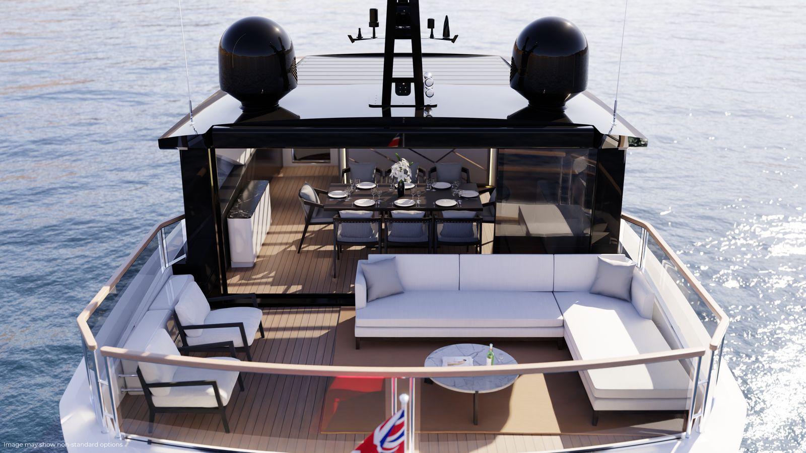 Sunseeker 90 Ocean Enclosed | Экстрьер 5